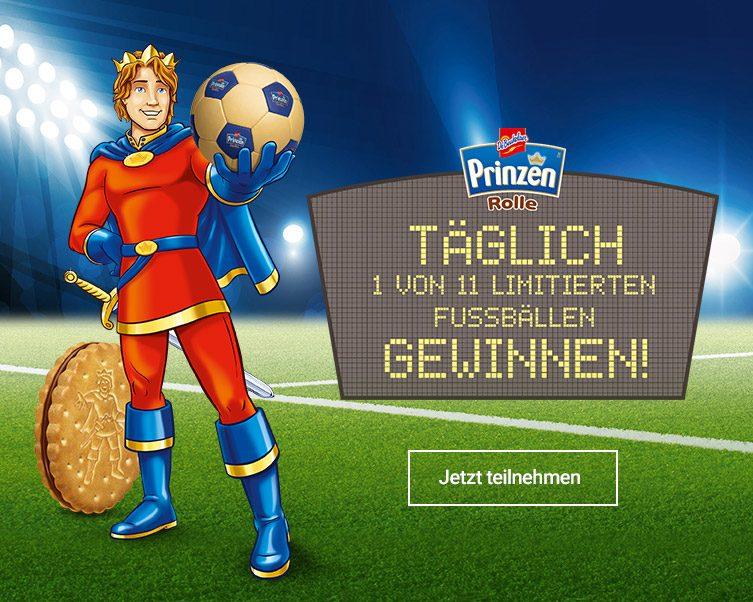Prinzen Rolle Fussball Gewinnspiel