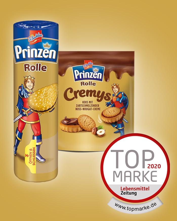 """Prinzen Rolle als """"Top-Marke 2020"""" ausgezeichnet"""