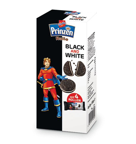 Prinzen Rolle BLACK AND WHITE Doppelkeks Vanille