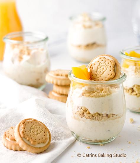 Dessert im Glas - einfach und lecker mit Prinzen Rolle Cremys Choc & Milk